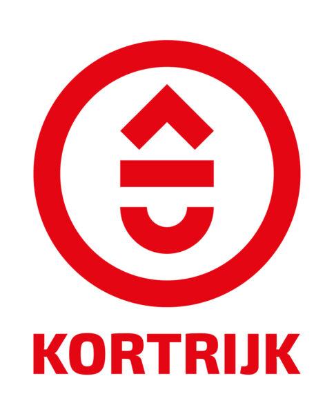 01 Kortrijk Logo Web ROOD Pos
