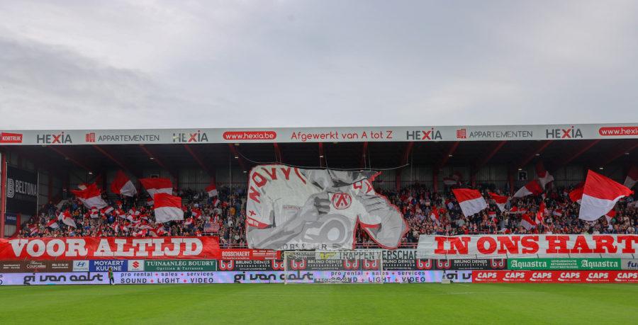 Tifo Vs Rsc Anderlecht Guldensporenstadion