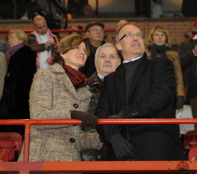 KV Kortrijk : Voorzitter Joseph Allijns Foto David Catry / VDB