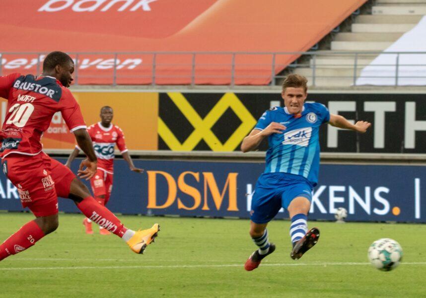 AA Gent – KV Kortrijk 1 2 TEREM MOFFI Foto Dominique ROMAEN