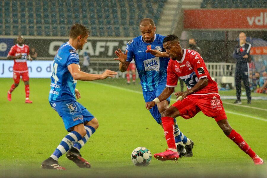 AA Gent – KV Kortrijk 1 2 FAIZ SELEMANI Foto Dominique ROMAEN