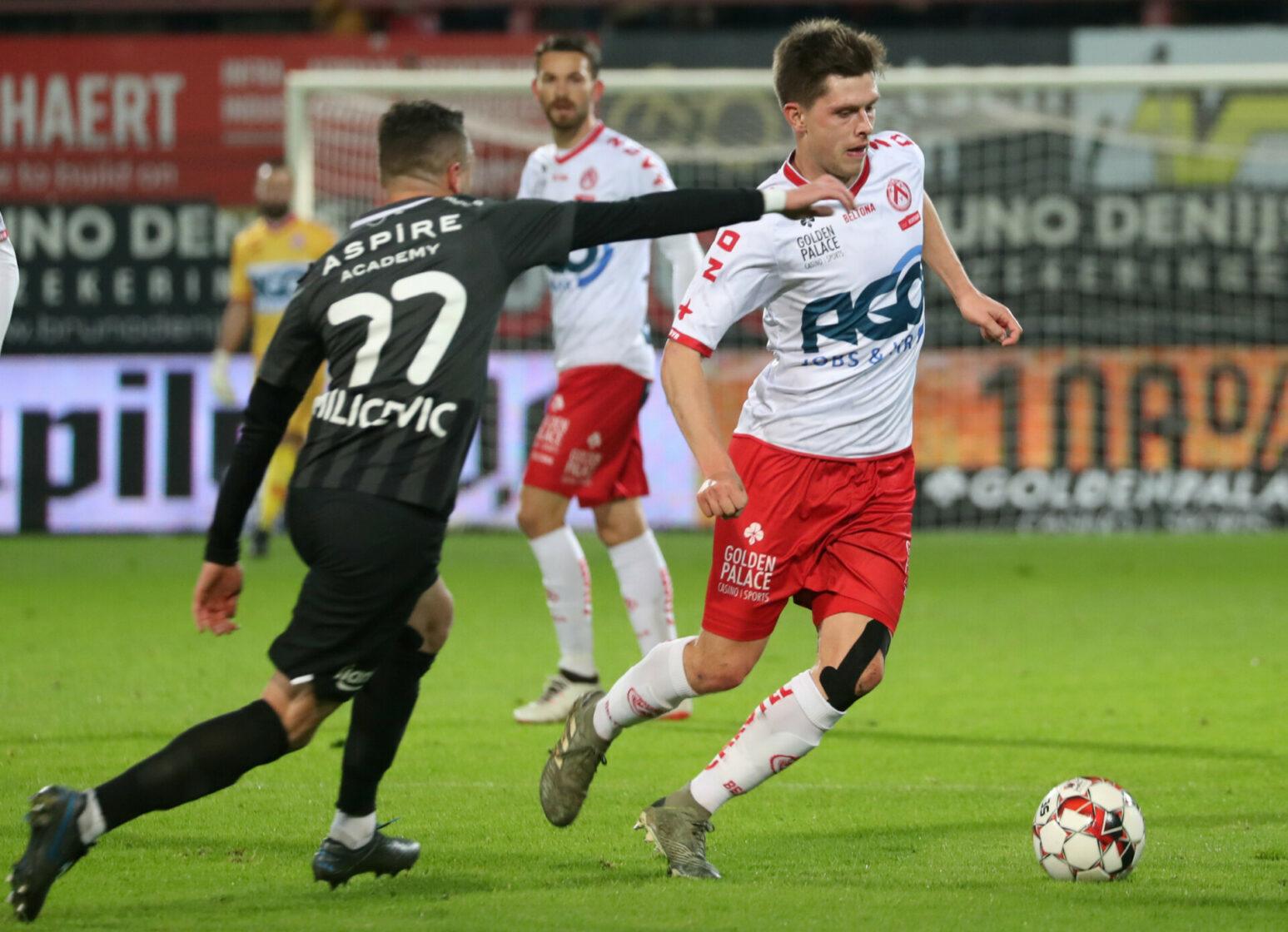 KV Kortrijk – Eupen : Hannes Van Der Bruggen Foto VDB / BART VANDENBROUCKE