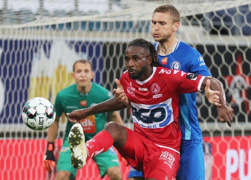 AA Gent – KV Kortrijk : Ilombe Mboyo Foto VDB / BART VANDENBROUCKE