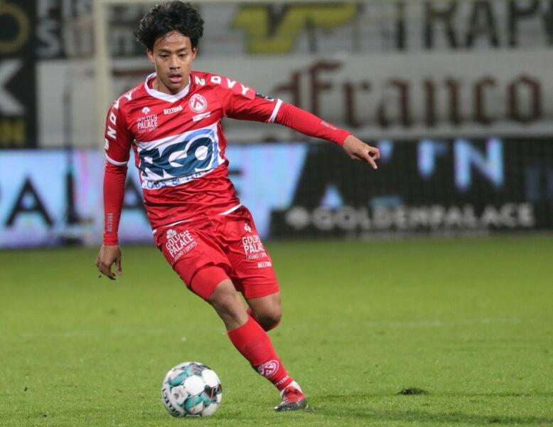 KV Kortrijk Anderlecht : Hakim Luqman FotoVDB / BART VANDENBROUCKE