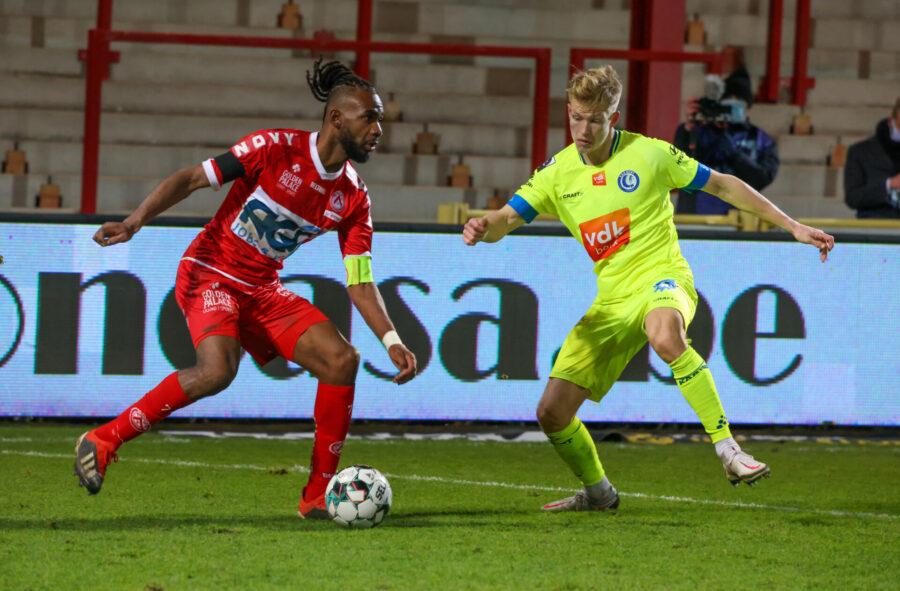 KV Kortrijk – AA Gent 1 0. 26/12/21 FOTO DOMINIQUE ROMAEN