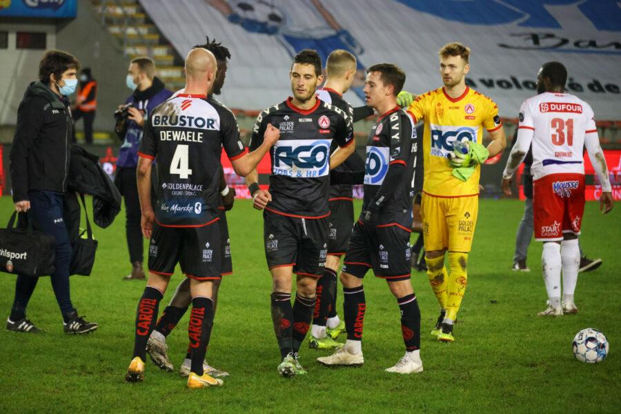 05/02/2021 RE MOUSCRON – KV KORTRIJK 0 3. FOTO DOMINIQUE ROMAEN