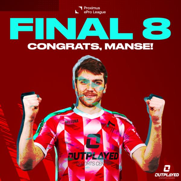 Congrats Manse