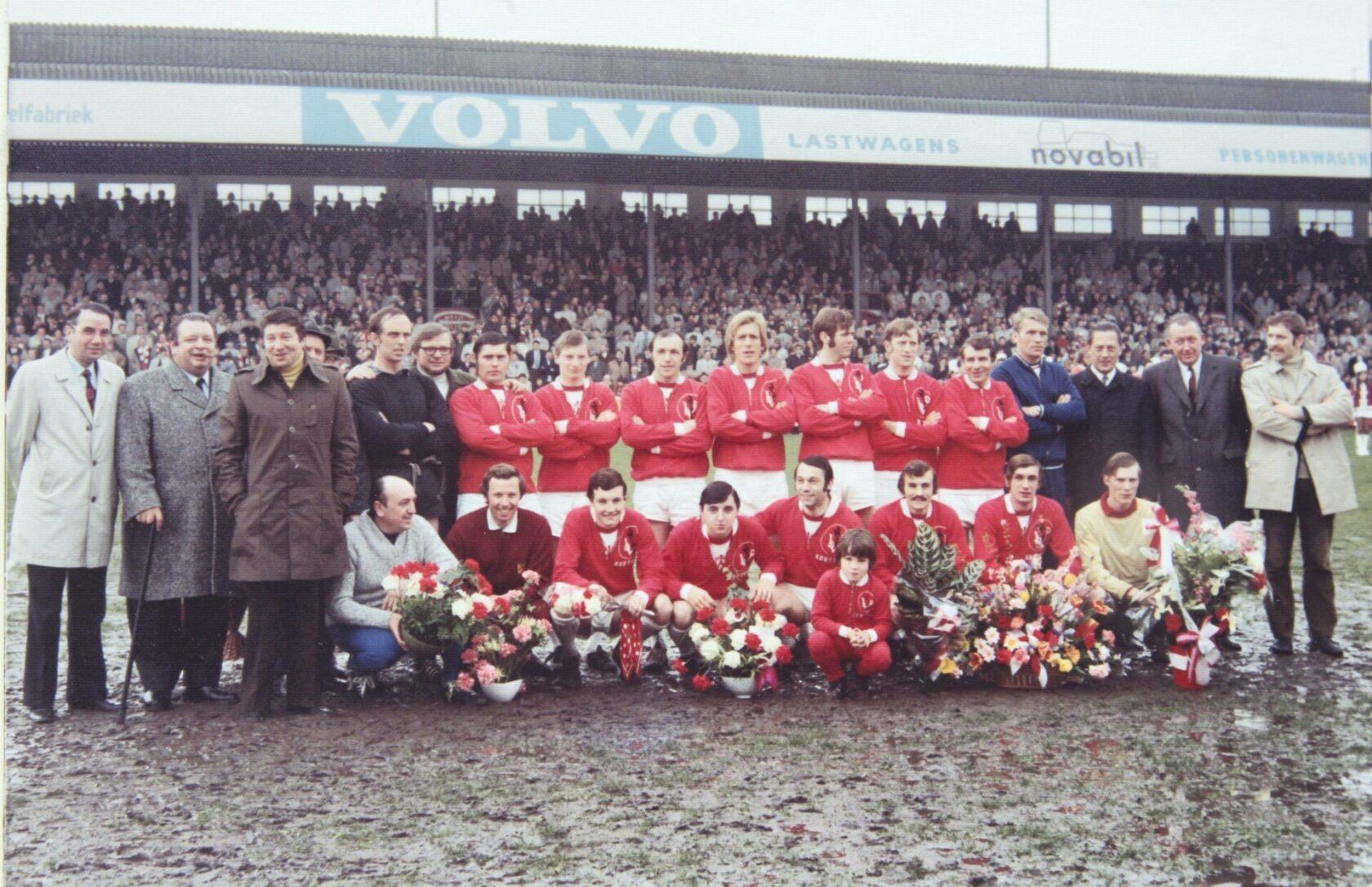 KV Kortrijk 1971 1972 Kampioen Foto Repro/VDB