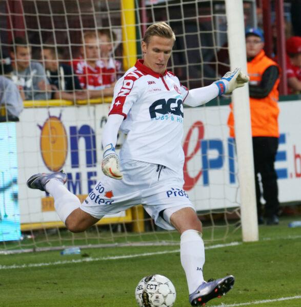 KV Kortrijk : Thomas Kaminski Foto VDB / BART VANDENBROUCKE