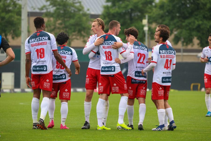 OEFENWEDSTRIF CLUB BRUGGE – KV KORTRIJK 0 1 FOTO Dominique ROMAEN