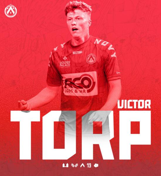 Victor Torp Aankondigingsvisual