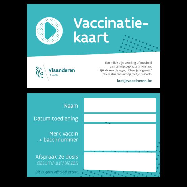Vaccinatiekaart